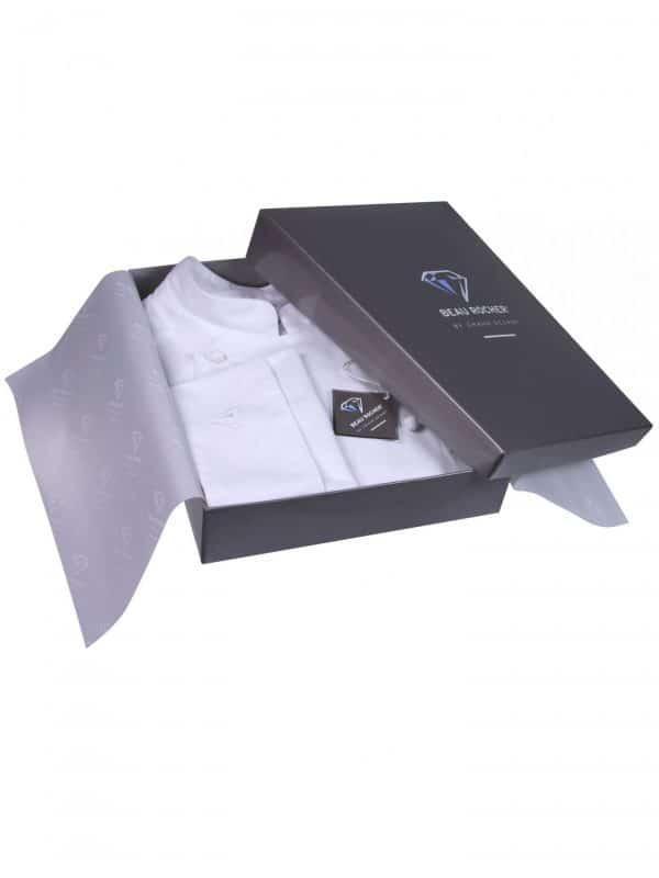Afbeelding verpakking kokskleding