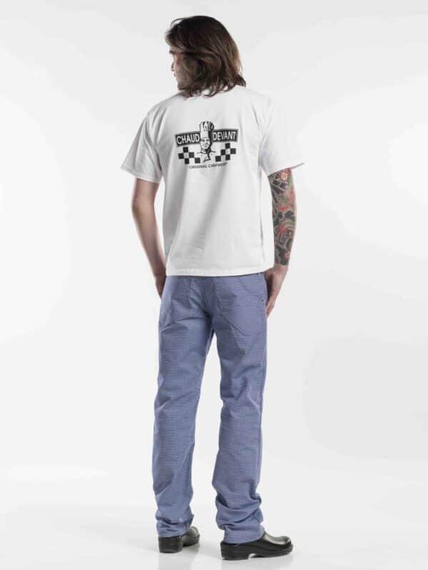 Afbeelding_Chaud Devant T-shirt Wit_achteraanzicht